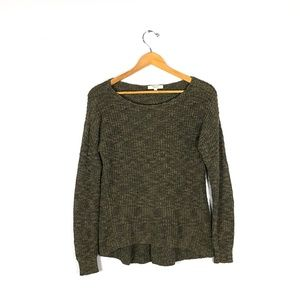 MADEWELL Green Knit Sweater    Size: S